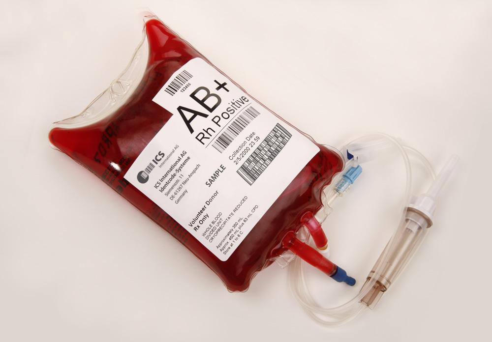 Poche de sang